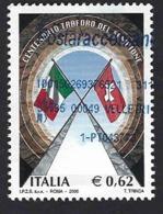 Italia 2006; Traforo Del Sempione, Con Annullo Inusuale. - 6. 1946-.. Repubblica