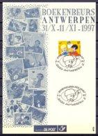 Begië - 1997 - OBP - Boekenbeurs Antwerpen - Stripfiguren - 12 Stuks - Zie Scans - België