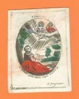 Holy Card Perkament Parchemin Vélin Pergamena (7 X 9,5cm) Santini Image Pieuse Religieuse L. Fruijtiers - Devotion Images