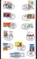 Begië - 1997 - OBP - Boekenbeurs Antwerpen - Stripfiguren - Geplooid - Zie Scans - België