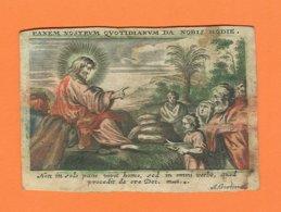 Holy Card Perkament Parchemin Vélin Pergamena (6 X 9cm) Santini Image Pieuse Religieuse A. Goetiers - Santini