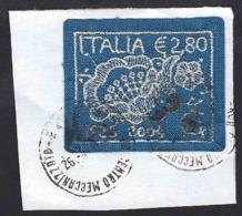 Italia 2004; L' Arte Del Merletto, Su Spezzone. - 6. 1946-.. Repubblica