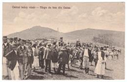 Romania Targu De Fete Din Gaina Gainai Leany Vasar Campeni Alba Topanfalva - Roumanie