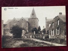 CHASTRES-----cpa--Extérieure De L'Eglise-animée - Walcourt