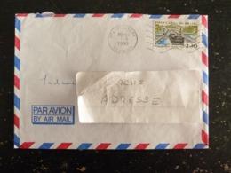 SAINT JOSEPH - REUNION - FLAMME MUETTE SUR YT 2658 PONT CANAL DE BRIARE LOIRET - Marcophilie (Lettres)