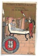 CHROMO - TAPIOCA NATUREL A. MAUPRIVEZ - En Visite - Kaufmanns- Und Zigarettenbilder