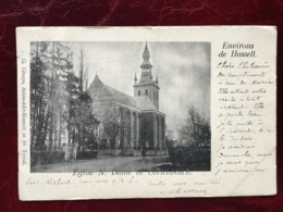 KORTENBOS-----cpa--Eglise Notre-Dame De Cortenbosch--1902 - Sint-Truiden
