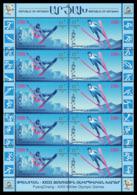 2018Karabakh Republic Of Artsakh159-160KL2018 Olympic Games In Pyeongchang - Winter 2018: Pyeongchang