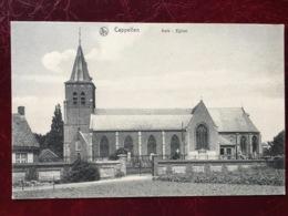 KAPELLEN----- Cpa--L'Eglise--1911 - Kapellen