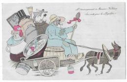 Le Déménagement De Monsieur Fallières (En Route Pour Le Loupillon) - Satiriques