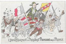 L' Emménagement Du Président Poincaré Par Le Peuple - Satiriques