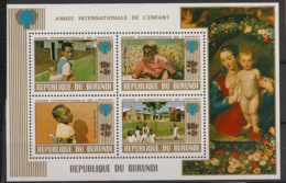 Burundi - 1979 - N°Mi. Bloc 109 - Année De L'enfant - Neuf Luxe ** / MNH / Postfrisch - Burundi