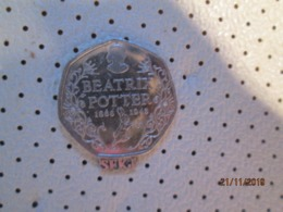 GREAT BRITAIN 50 Pence 2016  BEATRIX POTTER # 1 - 1971-… : Decimal Coins