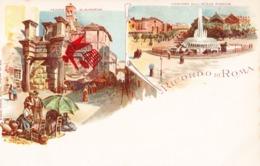 Ricordo Di ROMA - Carte Colorée - Viste Panoramiche, Panorama