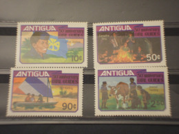 ANTIGUA - 1981 GUIDE 4  VALORI - NUOVI(++) - Antigua Und Barbuda (1981-...)