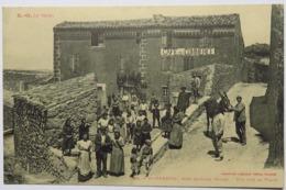 C. P. A. : 11 SAINT-FERRIOL Près QUILLAN : Vue Sur La Place, Café Du Commerce, Animé - Other Municipalities