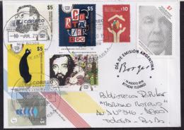 Argentina - 2019 - Écrivain Argentin - José Luis Borges - Julio Cortazar - Briefe U. Dokumente