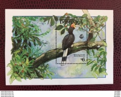 DOMINIQUE 1992 1 BF 227 Neuf ** MNH Toucan Fauna In Danger Of Extinction Birds Of Dominica - Parrots