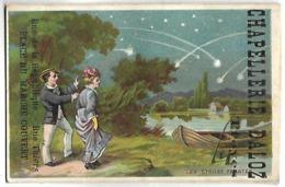CHROMO - CHAPELLERIE DALOZ - TROYES - Les étoiles Filantes - Chromos