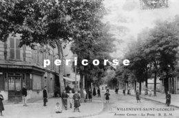 94  Villeneuve Saint Georges  La Poste   Avenue Carnot - Villeneuve Saint Georges