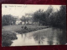 CHAPELLE-SAINT-LAMBERT----cpa-La Lasne-animée - Lasne