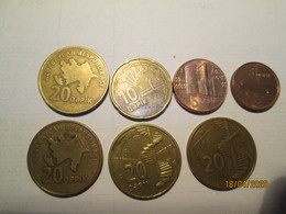 AZERBAIJAN 7 Coins - Azerbaïjan
