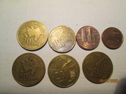AZERBAIJAN 7 Coins L 1 - Azerbaïjan