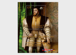 Austria 2019 - Joint Issue With Luxembourg - Emperor Charles V - Miniature Sheet - 1945-.... 2ª República