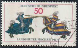 Allemagne 1975 Yv. N°693 - Noces De Landshut - Oblitéré - [7] République Fédérale