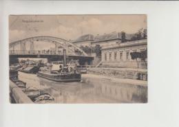 Nagybecskerek Dampfer Steamer On River Begej Postcard 1920 (br062) Schiff Ship - Serbie