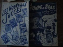 """LA POMPE A BRAS LES POMPIERS DE """"CHEZ NOUS"""" ANDREX PAROLES DE BOBY FOREST MUSIQUE DE A. FRAGNA - Spartiti"""