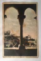 13079 Monte S. Giugliano ( Trapani - Erice ) - Chiesa Di S. Giovanni E Villa Balio Viste Da Una Bifora Del Castello - Trapani