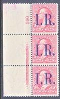 U.S. R 155   **  PLATE NUMBER  MARGIN - Revenues