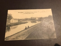 Herentals - Herenthals - De Vischvangst Langs't Kanaal - La Pêche Le Long Du Canal - Ed. P. De Blende - Herentals