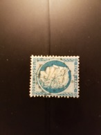 N°60 A,  25 Cts Bleu , GC 4943, St Paul Les Romans, Drôme. - Storia Postale (Francobolli Sciolti)