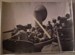 1916 Salonique Front D'orient Chasseurs à Pieds Dans Les Transports Troupe Canons Tranchées Poilus  1914 1918 WW1 14/18 - Guerra, Militari