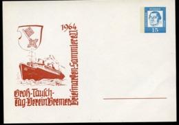 """Bund PP29 C2/003 DAMPFER """"BREMEN"""" 1964  NGK 7,00 € - BRD"""