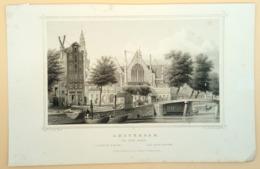 Amsterdam Oude Kerk - Prenten & Gravure