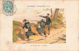 Militaire Armée Française Chasseurs à Pied - Régiments