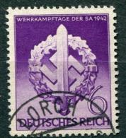 Deutsches Reich -  Mi. 818 (o) - Usados