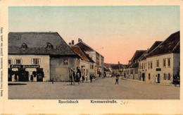 RAVELSBACH AUSTRIA~KREMSERSTRABE~REFLECTIVE WINDOWS~FRANZ KIRCHMAYER POSTCARD 42467 - Österreich