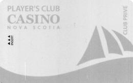 Casino Nova Scotia - Canada - BLANK Club Prive Level Slot Card - Tarjetas De Casino