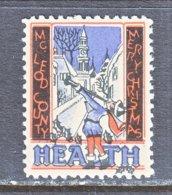 GREAT  BRITIAN  McLEOD  HEALTH  CHRISTMAS     ** - Cinderellas