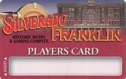 Silverado - Franklin Historic Hotel - Deadwood SD - BLANK Casino Slot Card - Casino Cards