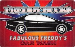 Fabulous Freddy's - Las Vegas, NV - Slot Card - Casino Cards