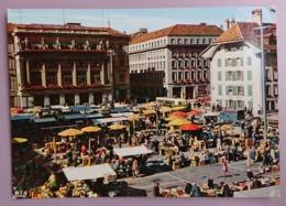 BERN / BERNE - Marit, Marché, Market, Mercato - Bus -  Vg - BE Bern