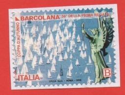 2018 Barcolana - Leggi Il Messaggio Del Venditore - 6. 1946-.. Republic