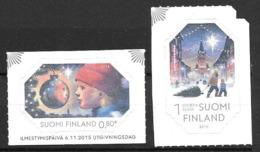 Finlande 2015 N°2393/2394 Neufs Noël - Nuovi