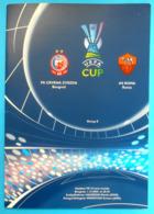 RED STAR BELGRADE Vs AS ROMA - 2005 UEFA CUP Football Soccer Match Programme Calcio Programma Italy Italia - Tickets - Entradas