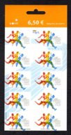 FINLANDE 2005 - Yvert N° 1714 - Facit 1749 - Neuf ** / MNH - FEUILLET 10 Valeurs - Championnat Du Monde D'athlétisme - Markenheftchen